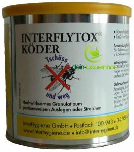 fliegenfalle gegen fliegen interflytox k der 400 g dose. Black Bedroom Furniture Sets. Home Design Ideas