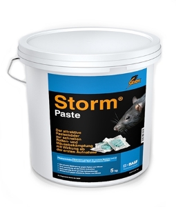 storm paste 5 kg basf compo gegen ratten und m use. Black Bedroom Furniture Sets. Home Design Ideas