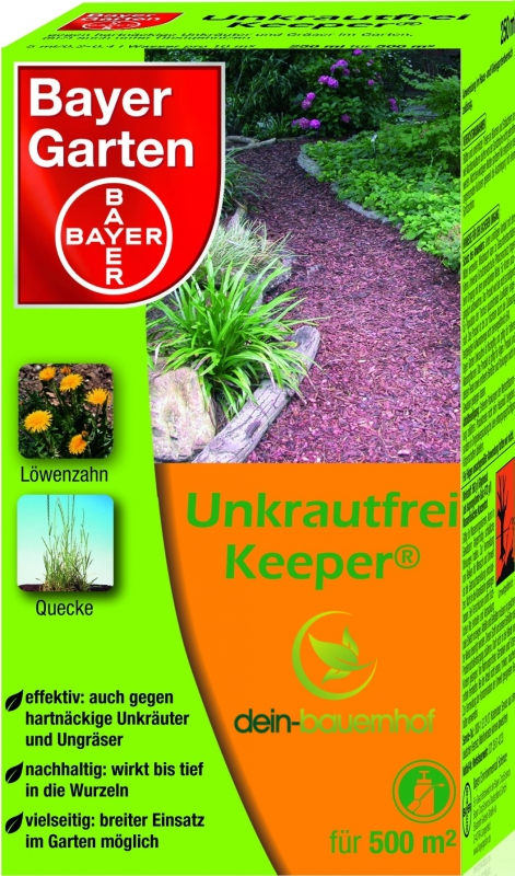 bayer garten unkrautfrei keeper 250 ml. Black Bedroom Furniture Sets. Home Design Ideas