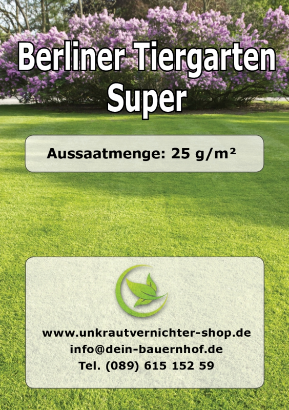 rasen berliner tiergarten super rsm qualit t. Black Bedroom Furniture Sets. Home Design Ideas