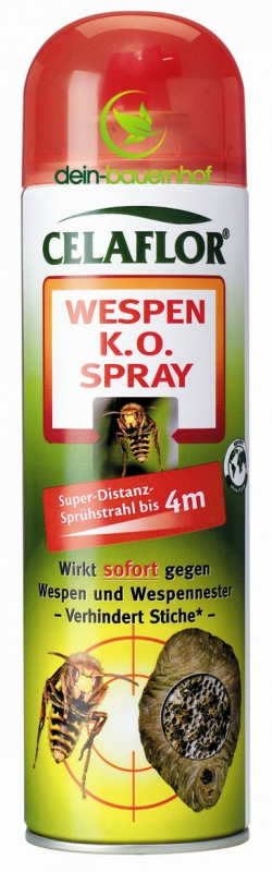 celaflor wespen k o spray 500 ml preiswert gegen wespen. Black Bedroom Furniture Sets. Home Design Ideas