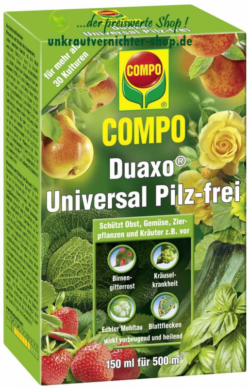 compo duaxo universal pilz frei 150 ml difenconazol fungizid. Black Bedroom Furniture Sets. Home Design Ideas