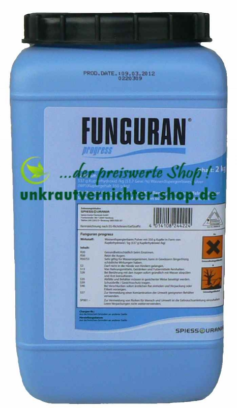 funguran progress 2 kg spritzmittel gegen kraut und. Black Bedroom Furniture Sets. Home Design Ideas