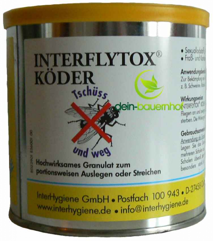 fliegenfalle gegen fliegen interflytox k der 400 g dose. Black Bedroom Furniture Sets. Home Design Ideas