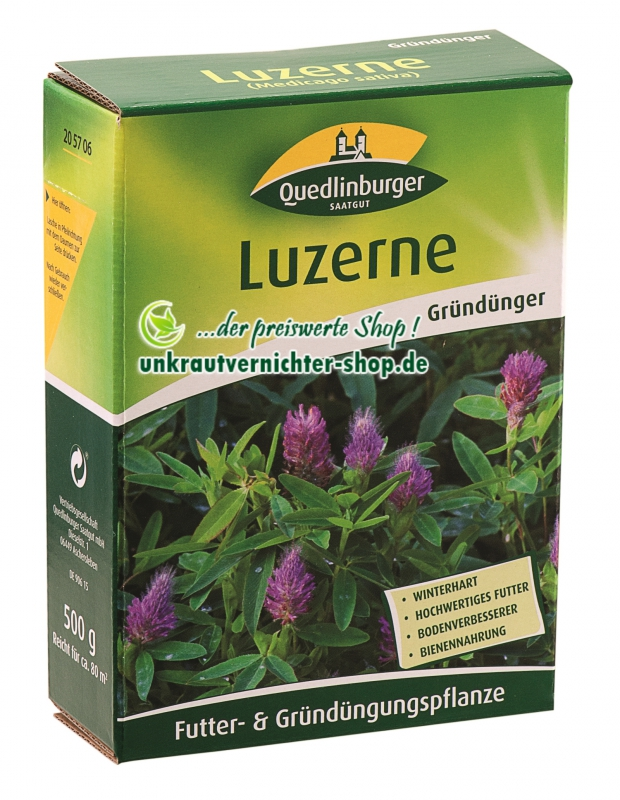 Fabelhaft Luzerne (Medicago sativa) als Futterpflanze und Gründüngung @OD_17