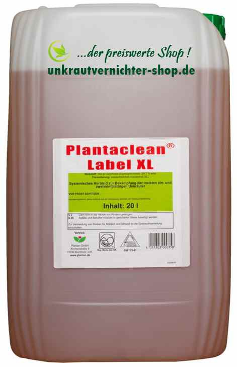 plantaclean label xl 20 liter. Black Bedroom Furniture Sets. Home Design Ideas