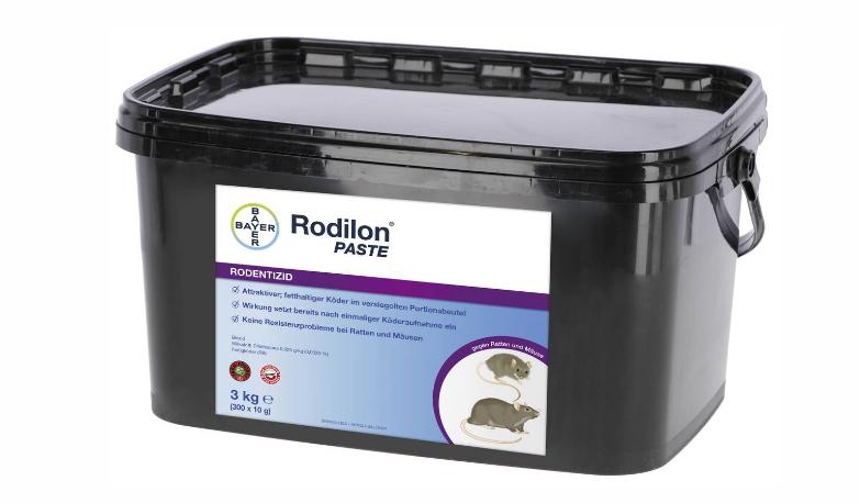 rodilon paste bayer 2 5 kg rattengift und m usegift. Black Bedroom Furniture Sets. Home Design Ideas