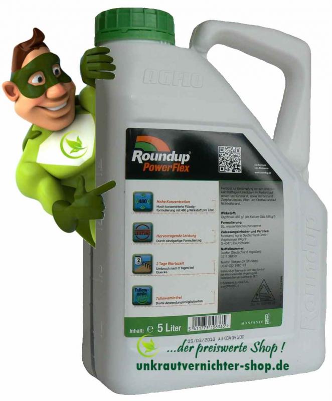 Roundup Powerflex 5 Liter
