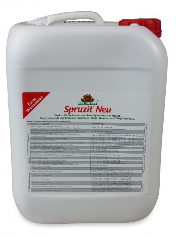 spruzit neu 10 liter insektizid mit pyrethrine und raps l